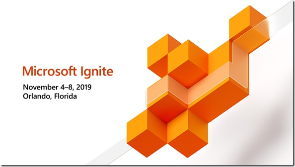 Microsoft Ignite 2019, Orlando