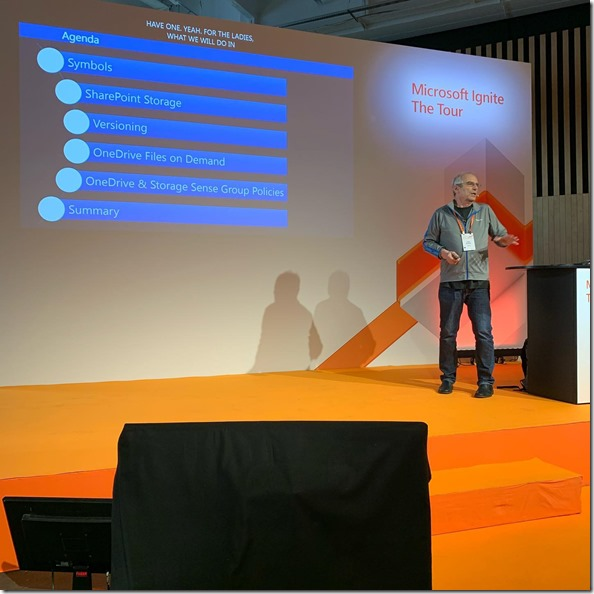 Microsoft IgnIte The Tour, Paris, Theater Session
