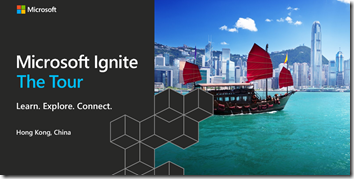 IgniteTheTour Hongkong
