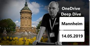 OneDrive Deep Dive Mannheim