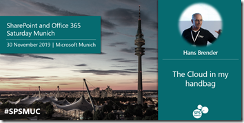 SharePoint and Office 365 Saturday, Munich