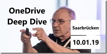 OneDrive Deep Dive - Saarbrücken