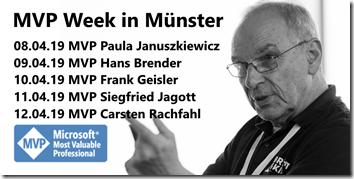 MVP Week in Münster