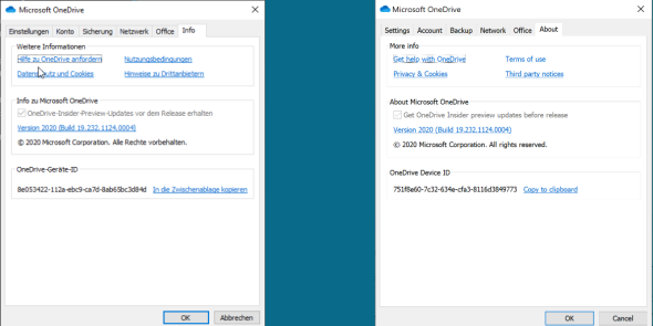 The OneDrive Device ID