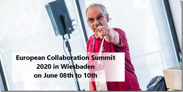 European Collaboration Summit 2020