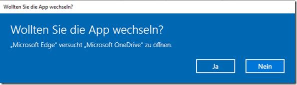 Wechsel zu OneDrive