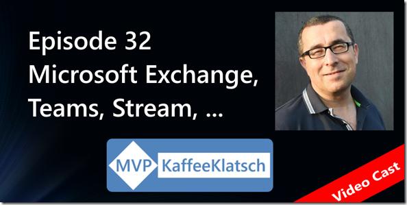 MVP Kaffeeklatsch - Episode 32