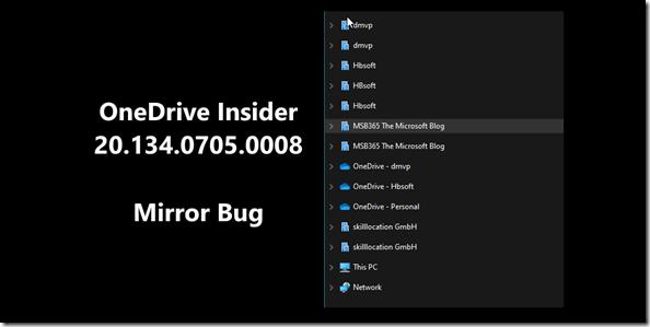 Mirror Bug 20.34.0705.0008