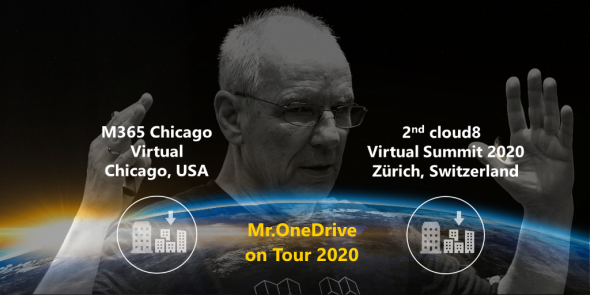 Mr.OneDrive on Tour: Same day, 2 gigs, 2 continents, 2 cities