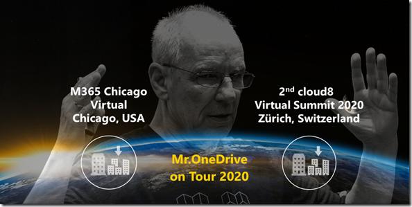 Mr.OneDrive on Tour: Gleicher Tag , 2 Auftritte, 2 Kontinente, 2 Städte