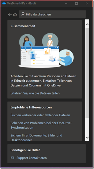 OneDrive for Business: Hilfe und Support
