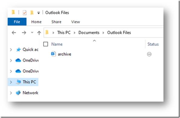 Anzeige im Windows Explorer