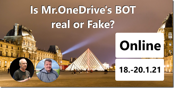 Mr.Onedrive's BOT Real or fake