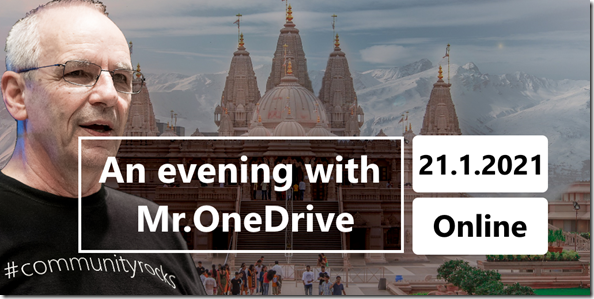 Mr.OneDrive goes to India