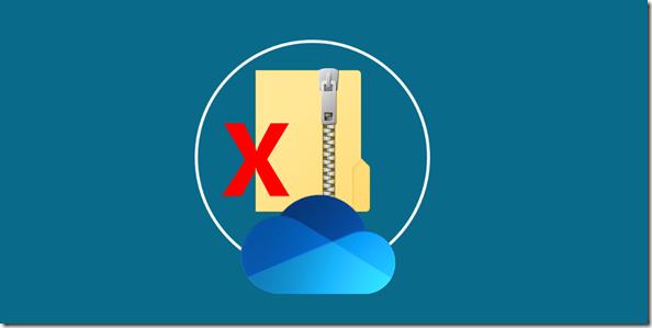 OneDrive: Zip file partial downloads no longer available