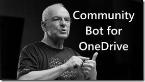 Community Bot for OneDrive