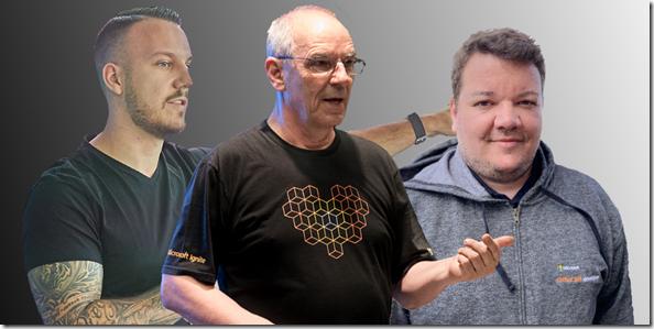 Die Macher: Stephan Bisser, Hans Brender, Thomy Gölles