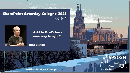 SharePoint Saturday Cologne