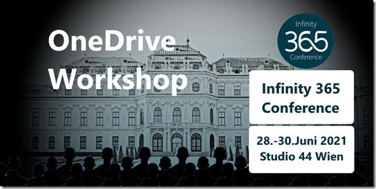 Infinity 365 in Wien: Nachfolge-Workshop zu OneDrive