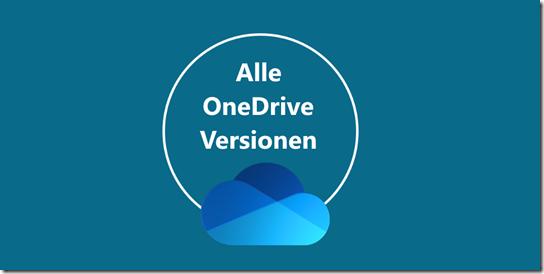 Community Bot for OneDrive kennt alle OneDrive Versionen des Sync client