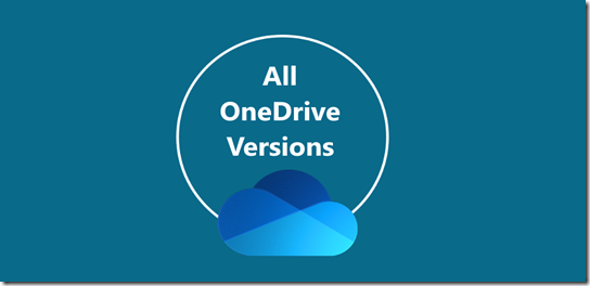 Community Bot for OneDrive knows all OneDrive Versions of the sync client